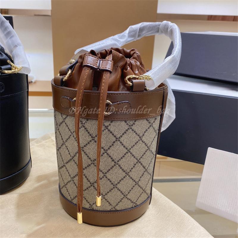 2021 Luxurys Designer Frauen 1995 Schulterpferde Bucket Tasche Handtaschen Crossbody Tote Kupplung Kette Shopping Abendtaschen Handtasche Geldbörsen Brieftaschen Burschen Rucksack