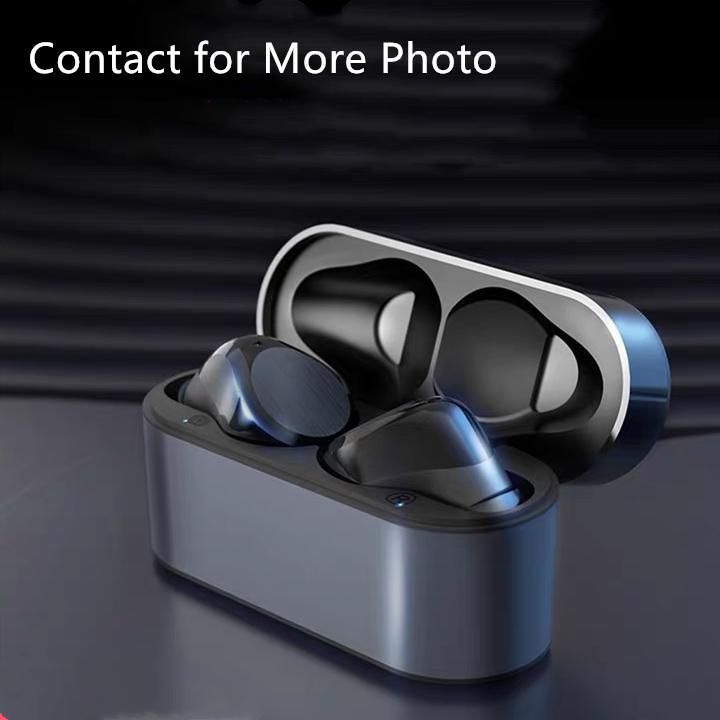 Wirless Kulaklık Kulaklık Çip Şeffaflık Metal Rename GPS Kablosuz Şarj Bluetooth Kulaklıklar Üretim Cep Telefonu için Kulak Algılama