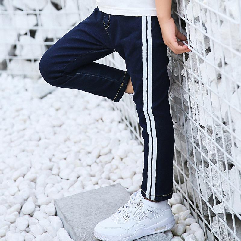 Ausländische Stil Jeans tragen resistente Kinder Jungen 'Casual Hose 2021'