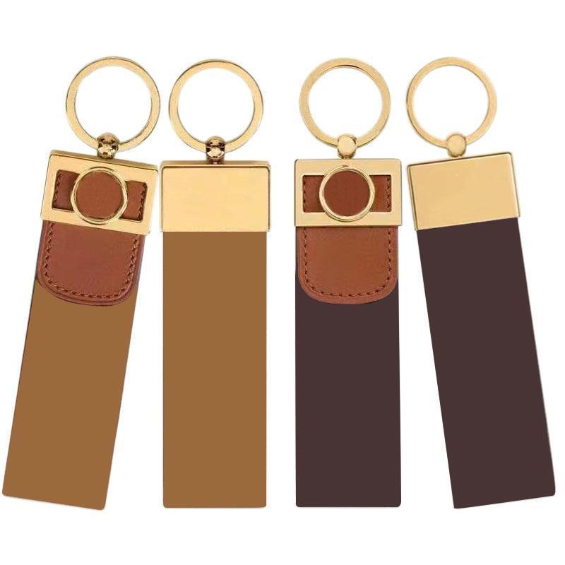 10 estilos de couro chaveiro letras cartas bolsa de carro pingente de moda casal chaveiro presente de fivela longo acessórios