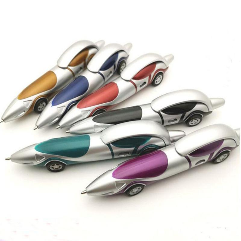 Ballpoint Pens Personalized Car Boys Girls Writing Marker Creative Stationery Primary School Prizes Children's Supplies