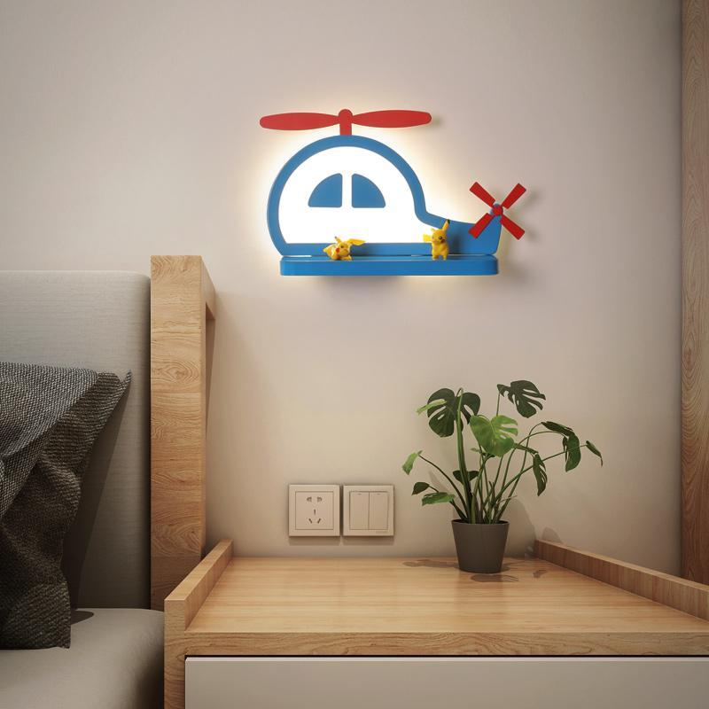 Habitación para niños LED LIGHTING Lámparas de pared modernas Dormituras Luces de cama de estudio Estudio Animal Aplicaciones Kindergarten Lámpara