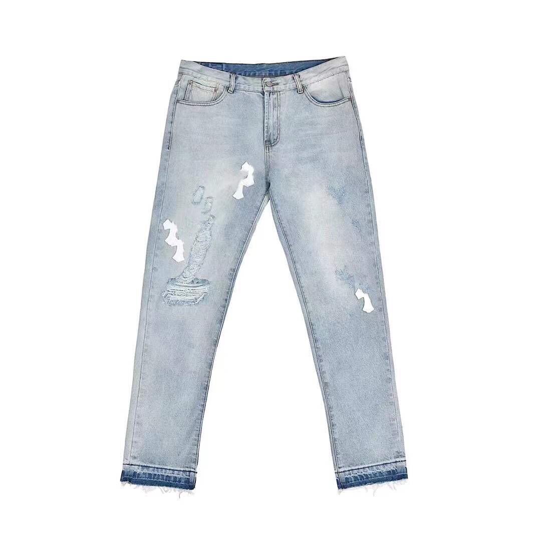 19FW new Italy paris USA jeans Casual Street Fashion Pockets Warm Men Women Couple Outwear jacket free ship 1022
