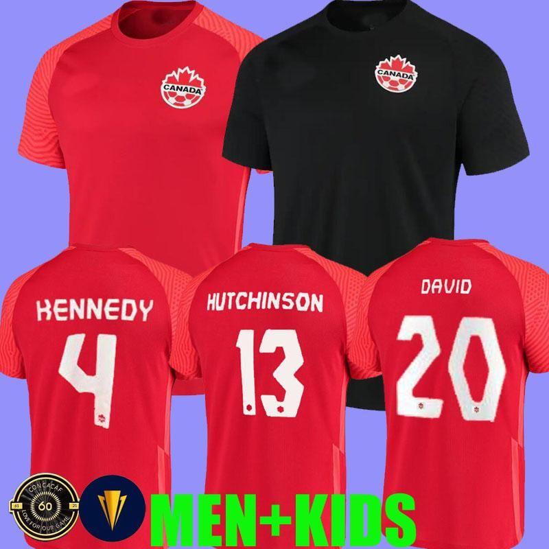 21 22 Canada Soccer Jerseys national team CONCACAF Gold Cup EVSTAQUIO HUTCHINSON 2021 DAVIES DAVID LARIN CAVALLINI LARYEA MILLAR HOILETT KEN