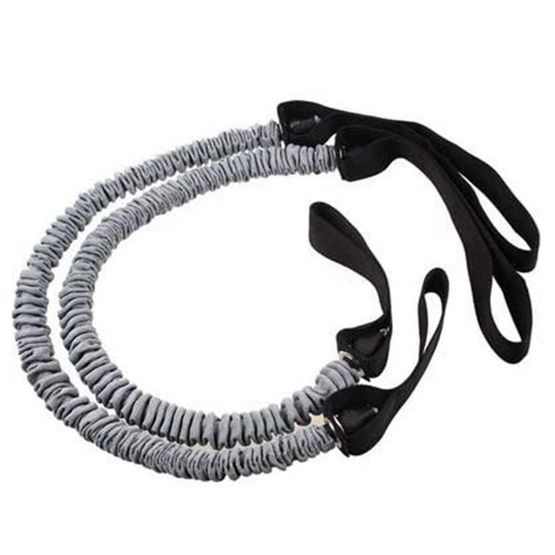 저항 밴드 풀 로프 탄성 피트니스 훈련 복부 근육 운동 체육관 확장기 필라테스 운동 장비