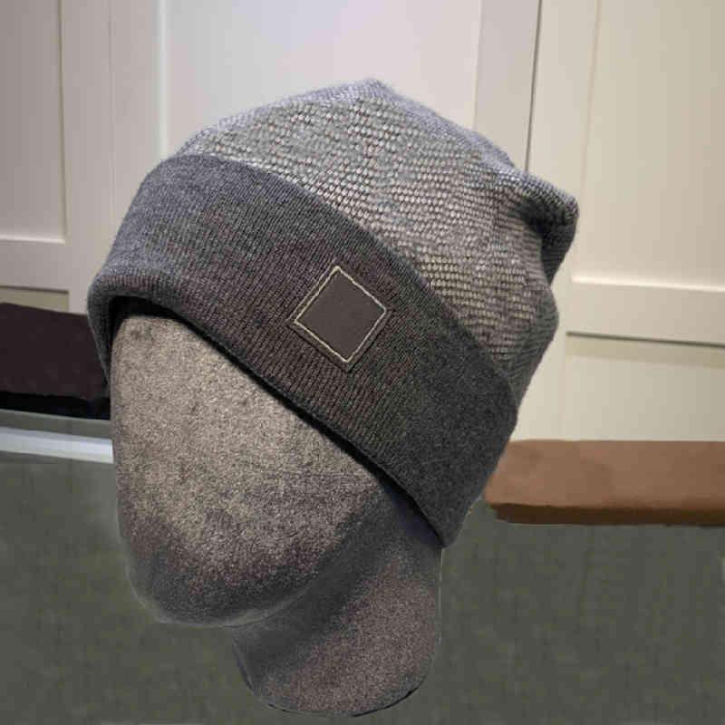 Designer de malha chapéu Beanie Cap Ski chapéus snapback máscara mens encaixotado inverno crânio tampões unisex cashmere xadrez letras luxo casual exterior moda 9 cor alta qualidade