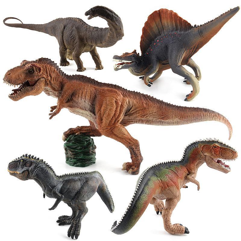 النكش الكلاسيكي النموذجي لطراز الديناصورات الحقيقية لجنوسور الجنوبي، الديناصورات الإمبراطور، قطع ديناصور طويلة العنق