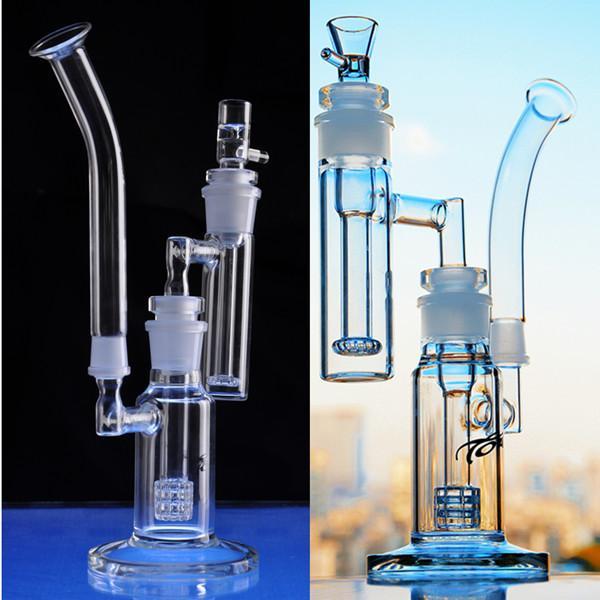 13-дюймовый съемный 5 частей кальян комбинированные водяные бонги 18,8 мм чаша Установки DAB рециллер стекло пузырь пиво бонгр