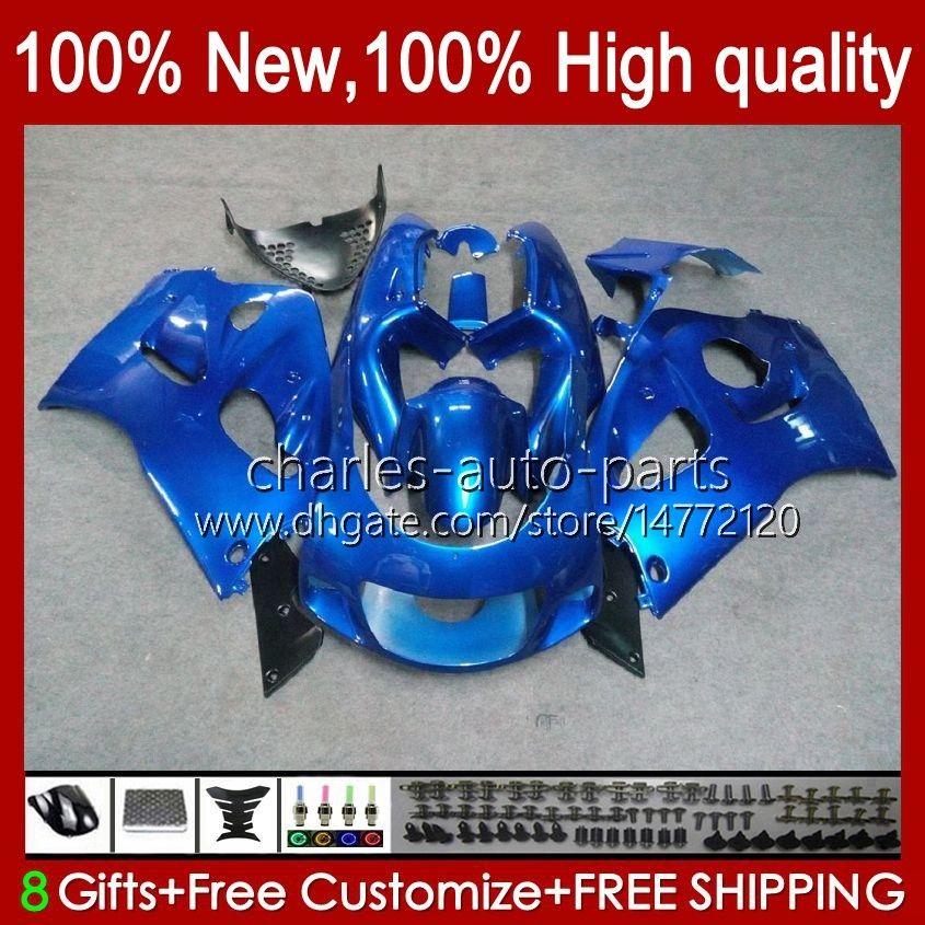 Bodywork Kit For SUZUKI SRAD GSXR 600CC 750CC 750 600 CC 96-00 Body 22No.11 metal blue GSXR-750 GSXR600 1996 1997 1998 1999 2000 GSXR750 GSX-R600 96 97 98 99 00 Fairing