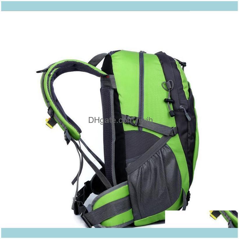 Zaini da trekking Backpacks Tactical Geautdoor Sport Ampia Capacità Viaggi Mountain Pack Men E Donne Tempo libero in bicicletta Zaino impermeabile in bicicletta. Dro.