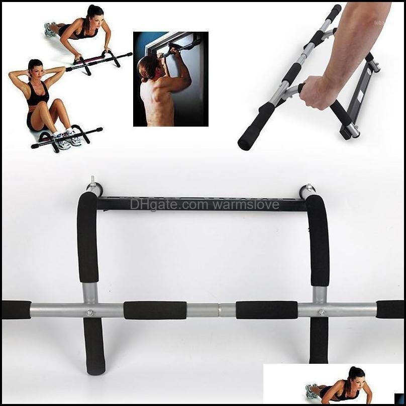 Equipamentos horizontais Suprimentos Sports OutdoorsHorizontal Bares Mise en Forme du Fitness 110kg Barra de plus-up de aço Portable1