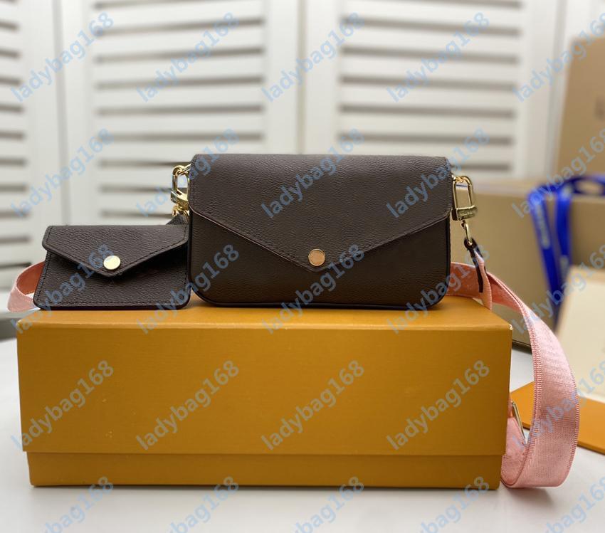 Мода Mini Classic Luxury Designer Дамы Messenger Сумки на плечо Высокое Качество Сумки Кожаный Холст Комбинация Ретро