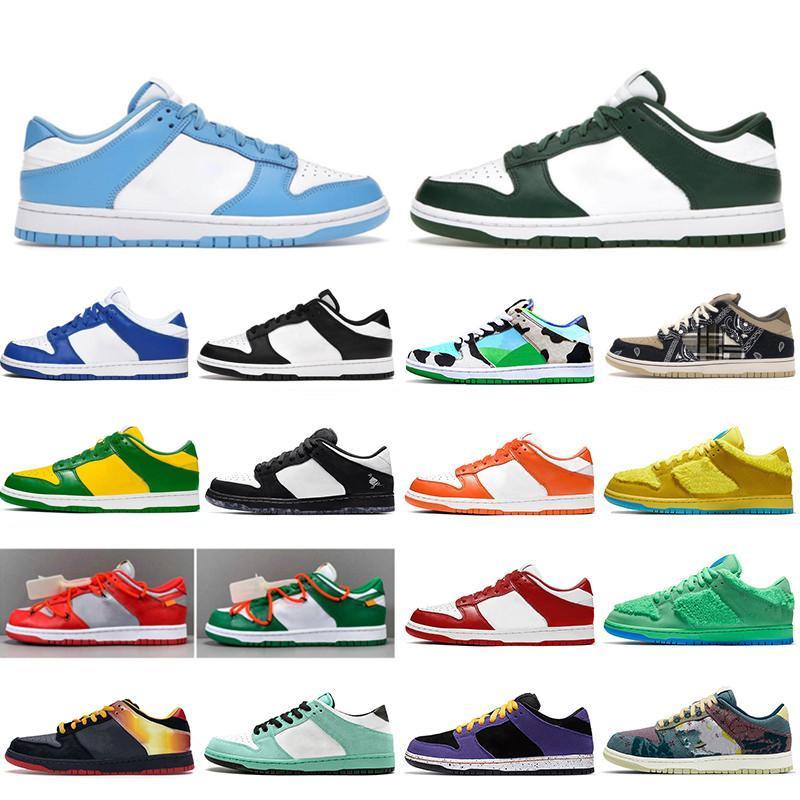 Dunk SB shoes Low 2020 새로운 땅딸막 한 Dunky 낮은 남성 여성 대학 빨간색 녹색 곰 켄터키 시러큐스 사파리 스포츠 운동화 스케이트 신발 여자 신발을 실행
