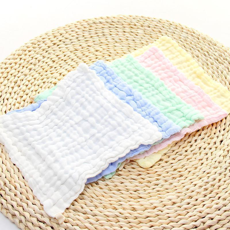 Tuch 5pcs / lot Babypflegeabsorbierende Gaze 100% Baumwolle Gesichtstuch.