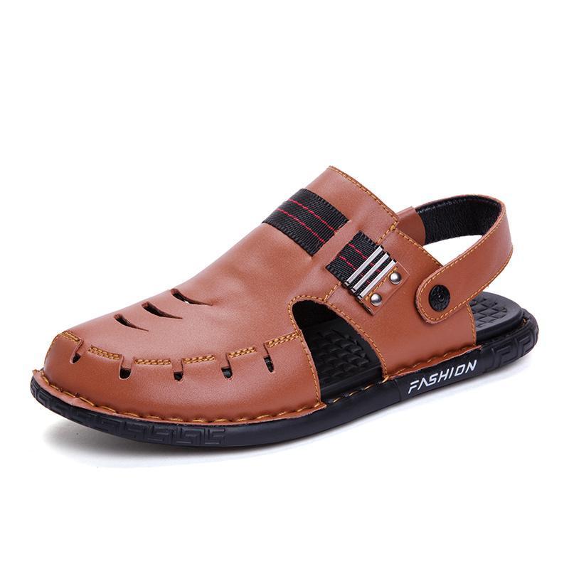 Sandálias Cuero Toe Loop Sandale Branco S Casual Romano de Borracha Chinelos Homem Em Vietnã Sapato De Couro Nos Mens Piel Verão Sandalias Masculino