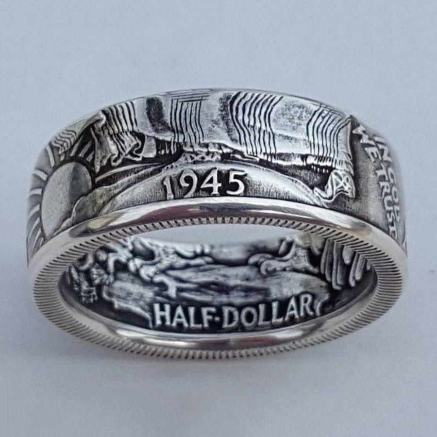 Новая античная монета Морган Соединенные Штаты Америки Полу доллар 1945 Ring Ma5r