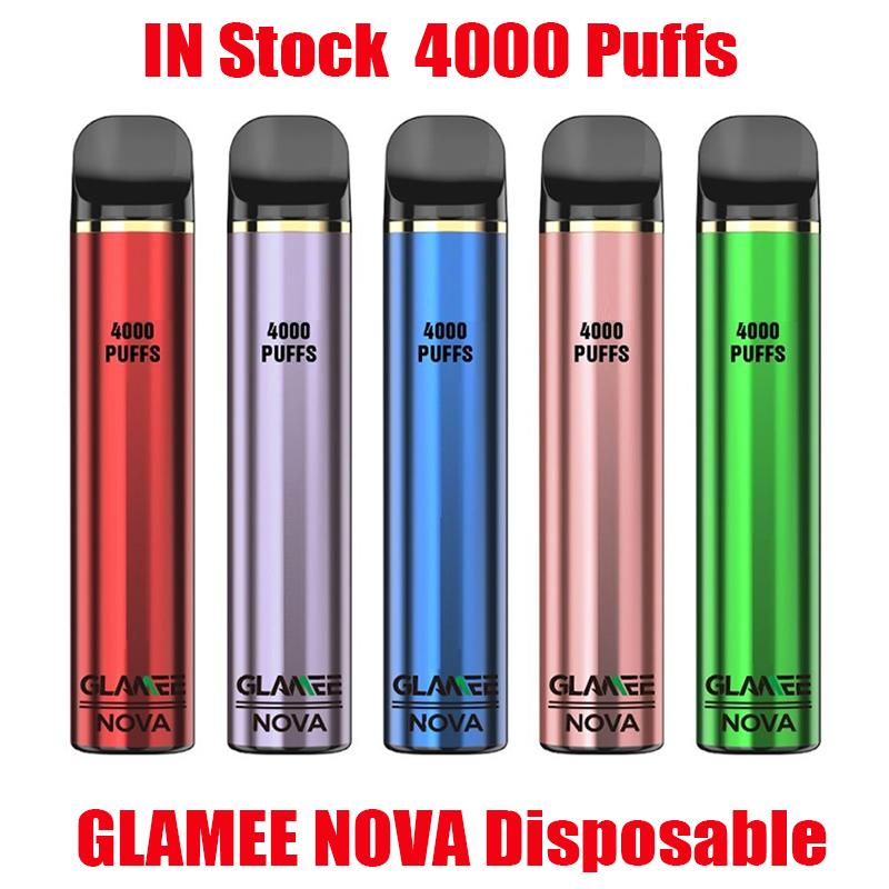 Glame Original Nova Dispositivo Dispositivo Dispositivo 2200mAh Bateria Preffurada 16ml Pods 4000 Puffs Vape Stick Pen Mate Bar Mais 100% Authentic