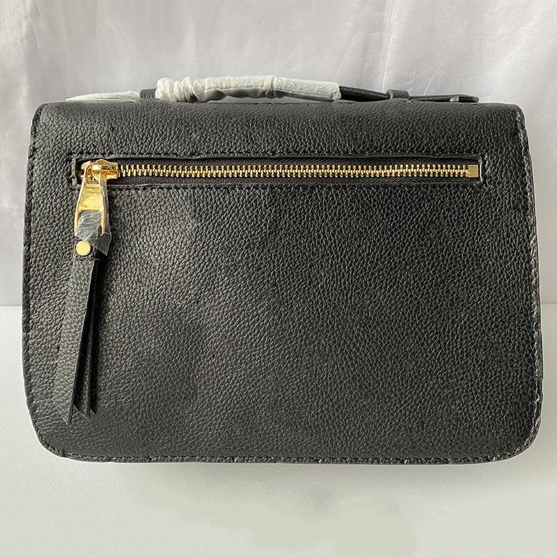Bolsa de couro clássico mulheres messenger bolsas de flor impressão m40780 hot pochette metis bolsas bolsa gravando crossbody real shoul puni