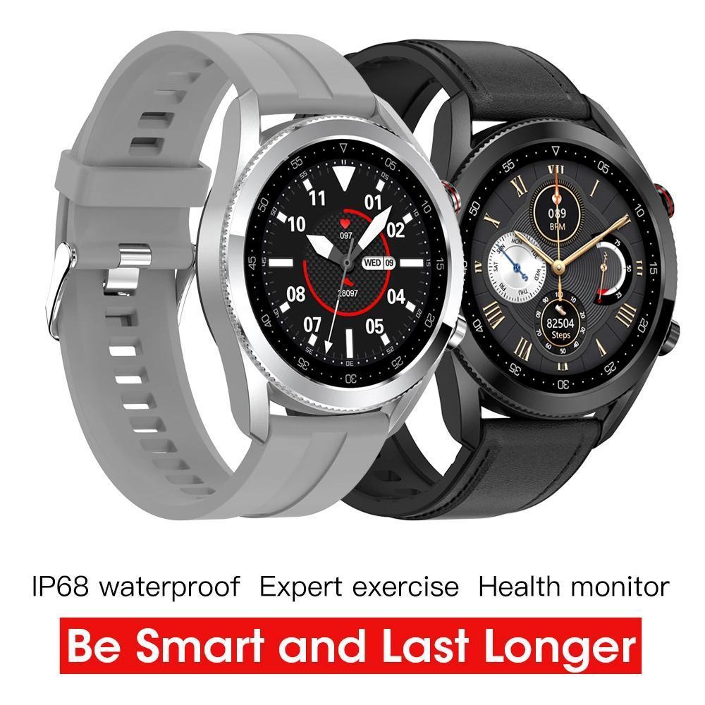 Мода Smart Watch SmartWatch Сплав Сплава Bluetooth Call Спортивные Часы Водонепроницаемый Шагомер Трекер Монитор кровяного давления