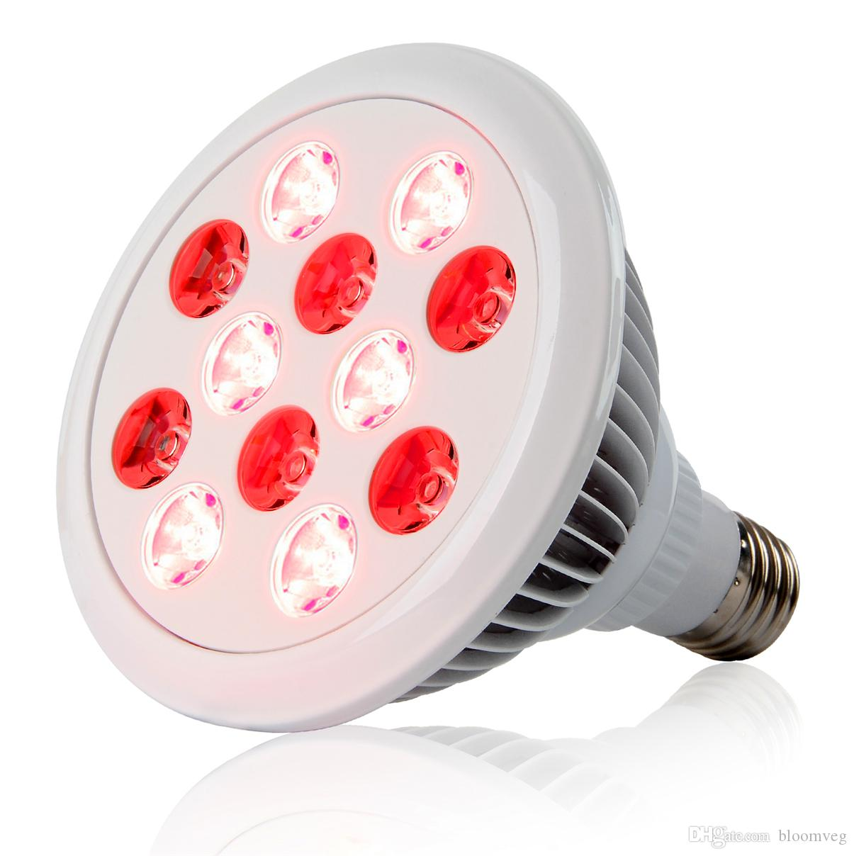 LED Bulbs E27 Arrival 24W red light therapy Skin Care face full body 630nm 670nm