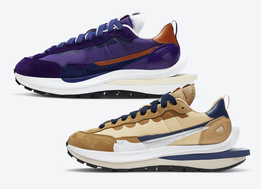 أطفال vaporwaffle السمسم الأزرق الفراغ الأبيض تشغيل الحذاء مع مربع 2021 LVD 3.0 الرجال النساء الأحذية الرياضية الحجم US4-US11
