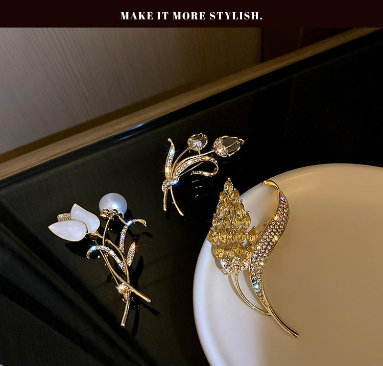 Luxury Jewelry Women Designer Brooches Taping ear Brooch Fashion suit jacket corset L-C20