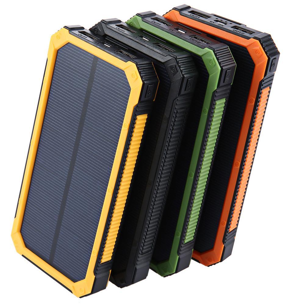 Tollcuudda 20000mAh الطاقة الشمسية powerbank ل lg الهاتف قوة البنك شاحن البطارية المحمولة المحمول pover bank powerbank dhl