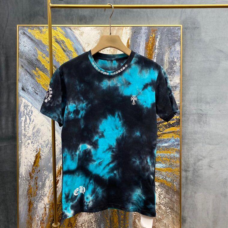 2021 Bahar ve Yaz Moda Baskı İşlemi Kısa Kollu T-Shirt Kadın ve erkek Kazak Yuvarlak Boyun Kazak T-Shirt Ins Unisex Giysileri Tee