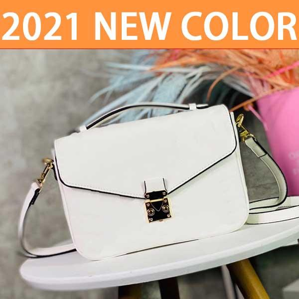 2021 Farbe Hohe Qualität Taschen Messenger Bag Frauen Totes Mode Vintage Druck Schulter Klassische Crossbody