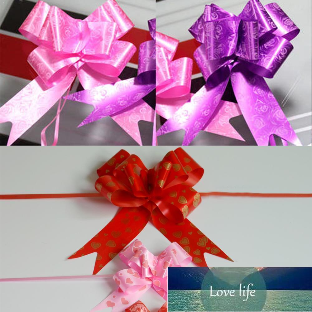 Party 10 stücke Fliege Ziehen Blume 12mm Handgemalte Blumen Auto Dekorative Box Gemischt Geschenk Farbe Raumtasche Geburtstagsbänder Mi A7D1