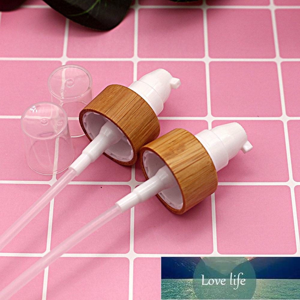 20/410 24/410 Kozmetik Çevre Dostu Sprey Bambu Kap Cam Plastik Pet Şişe