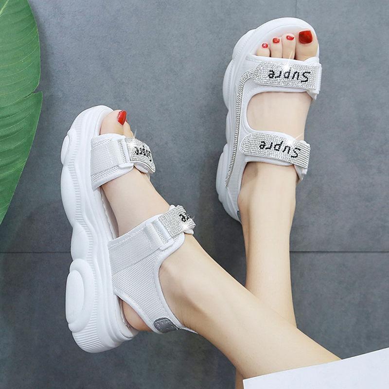 Sandales de plate-forme pour femmes SER TRENDY 2021 Chaussures plates pour femmes