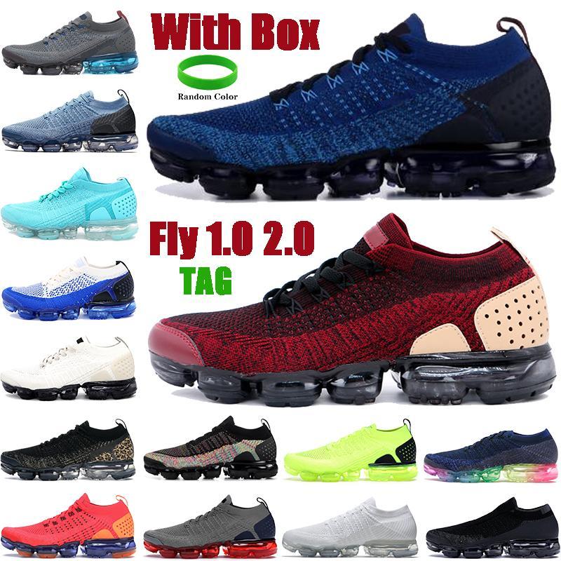 مع مربع يطير 2.0 1.0 الرجال النساء الاحذية رياضة الأزرق سترة حزمة فريق أحمر الثلاثي أسود أبيض رجل أحذية رياضية