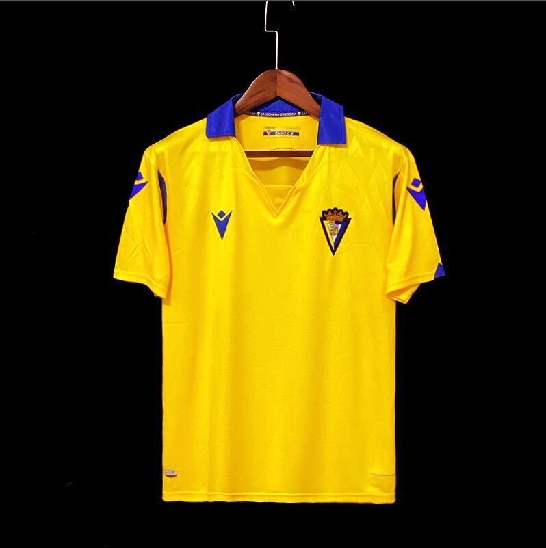 2021 2022 Top Cadiz Soccer Jersey Home Away A. Perea A.Negredo Cádiz Camisetas de Fútbol 21 22 Lozano Alex Bodiger Juan Cala Camiseta A Liga Men Pre-Match Shirts