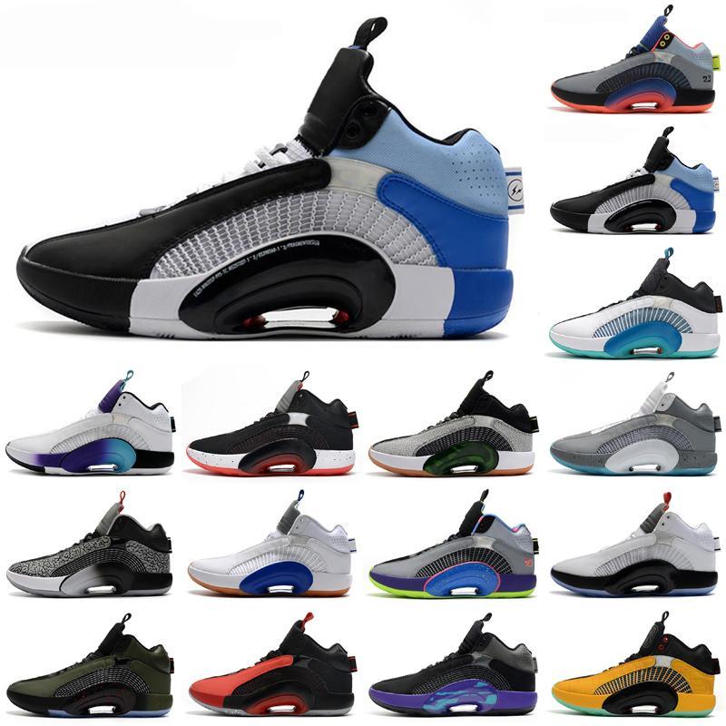 Erkek Ayakkabı 35s Jumpman Açık Ayakkabı 35 XXXV Sneakers Ağırlık Merkezi DNA Morpho Kardeşhhood Spor