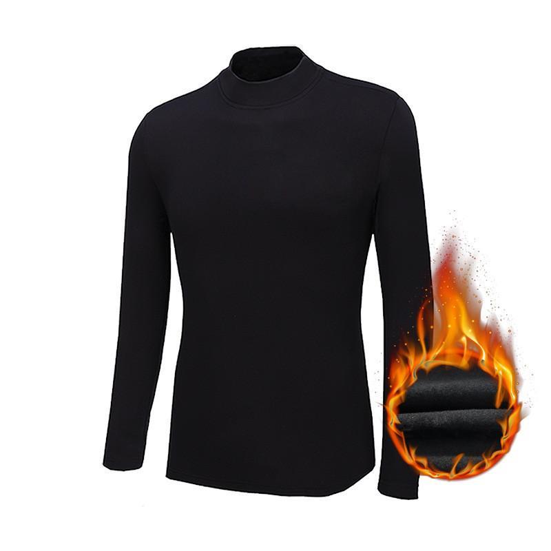 MRMT 2021 Marque Nouveau Messieur Long Mouwen T-shirts T-shirts chauds Plus fluvial T-shirt Mouwen épais pour Homme Tops Tshirt
