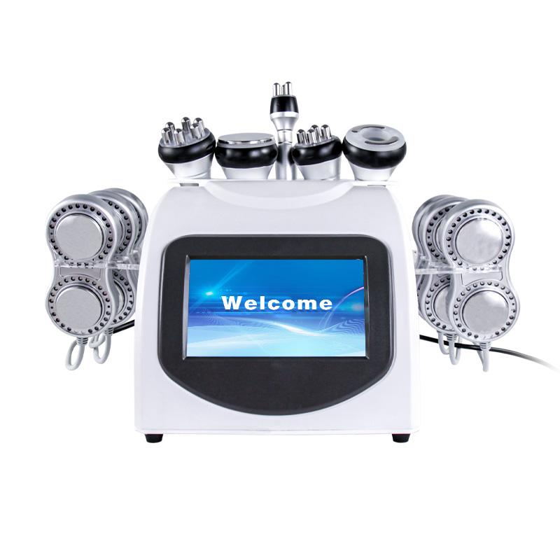 40K 지방 Cavitation 지방 흡입 초음파 슬리밍 기계 진공 RF 바디 쉐이핑 체중 감량 Lipo 레이저 스파 용
