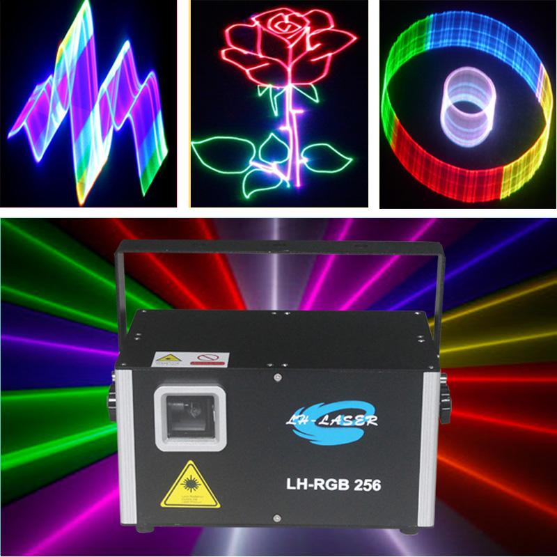 ILDA 3500mW 3d Multi-Color Animation Lighting With DMX 512 Auto Sound active outdoor christmas full color rgb disco laser light projector