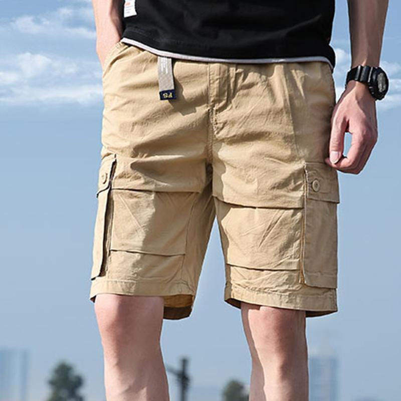 Homens de shorts masculinos moda cor sólida bolso de algodão de algodão macacão apresenta presentes para Boyfriend Basketball Bottoms