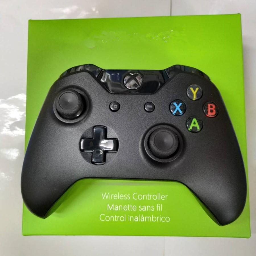 블루투스 무선 컨트롤러 게임 패드 Xbox One Microsoft X-Box Cwith 소매 포장 DHL에 대 한 정확한 엄지 조이스틱