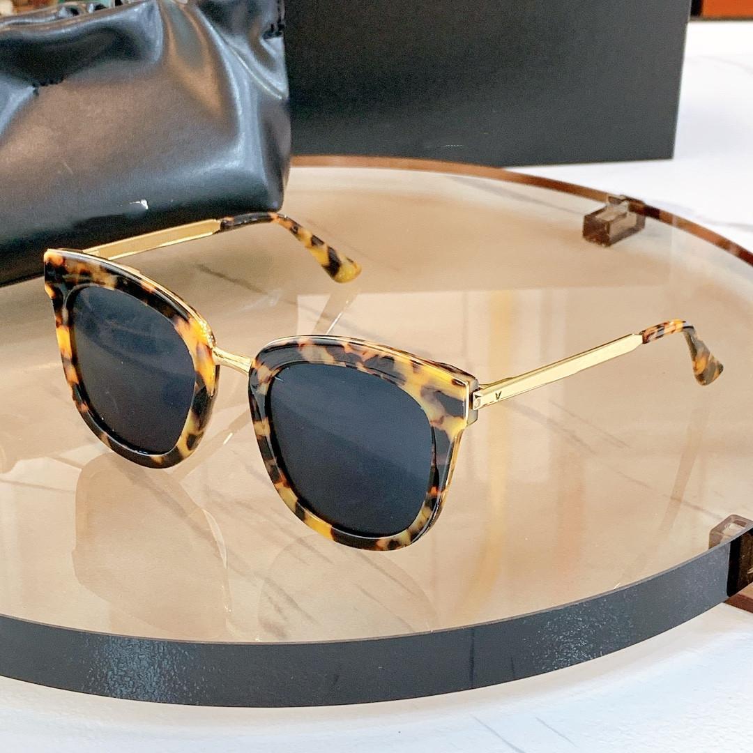 남성용 2021 브랜드 디자이너 스퀘어 선글라스 금속 갈색 그라디언트 태양 안경 여성 가파스 드 Sol Hombr