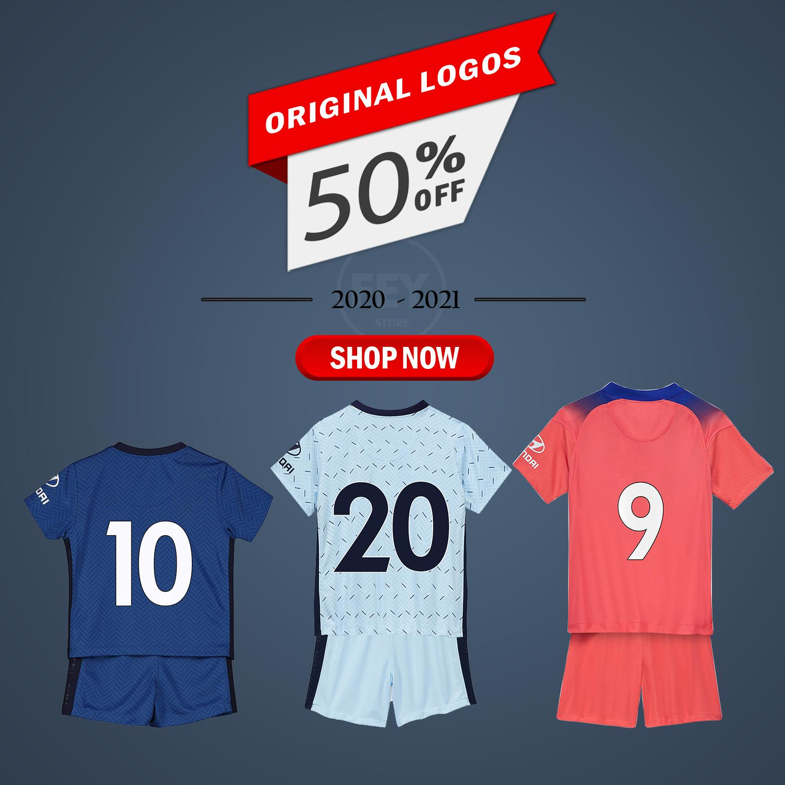 Baby Clothes Soccer Jersey kids kits Football Shirts 2020-21 home away Originals Name Style Sport
