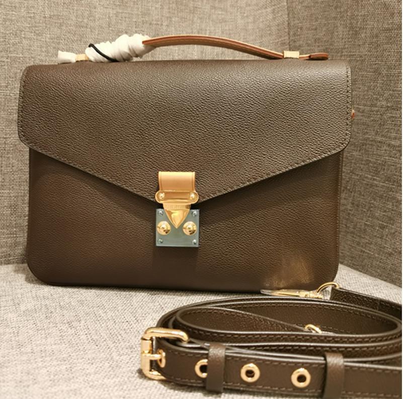 Europäische und amerikanische klassische Postman-Tasche Big Marke Design Single Schulter Straddle Postman Bag Mode frauen Tasche