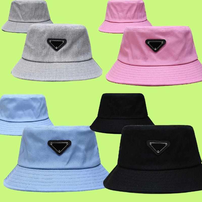 Chapéu de balde para mulheres moda clássico designer homens nylon cap novo outono primavera pescador chapéu tampões de sol gota navio