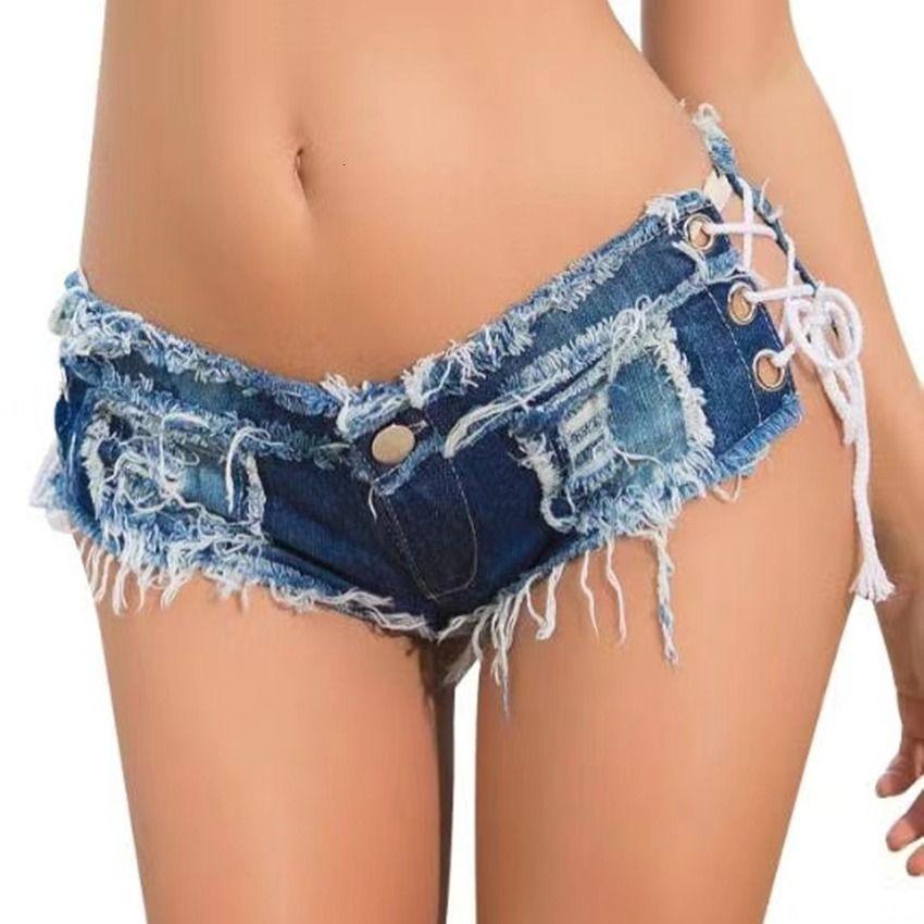 pantalones cortos pantalones cortos de verano pantalones cortos club nocturno cintura baja sexy