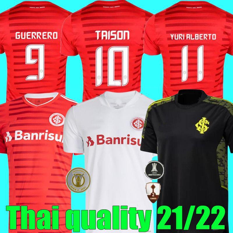 Acquista Camisa 2021 2022 SC Internacional Soccer Jerseys Home Red Away Bianco Patrick 21 22 Fernodão Camisetas R.Sobis D.Alessandro Training T Shirt ...
