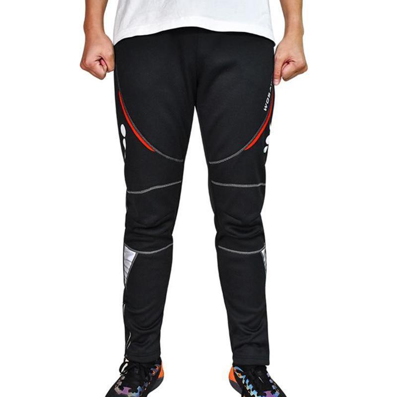 Зимний флис термальные велосипедные брюки водонепроницаемые брюки ветрозащитные ветрозащитные теплые мужские лыжи