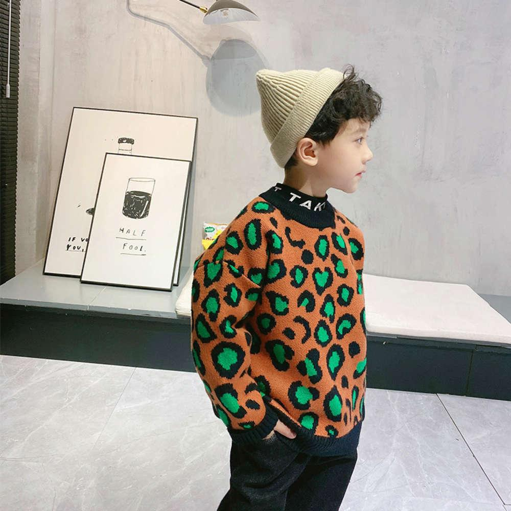 Cardigan camiseta suéter jersey otoño desgaste invierno niños coreano coreano back abrigo niños O71m
