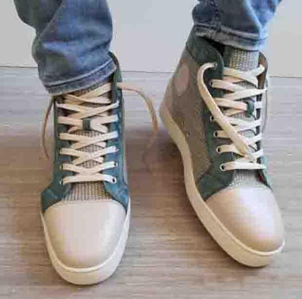 Belle scarpe di qualità Brand Designs Brand Bottom Uomo Alti Top Sneakers Orlato Flat Sports Trainer Summer Spring Moda Skate Skate Man / Donne Lovers Scarpa