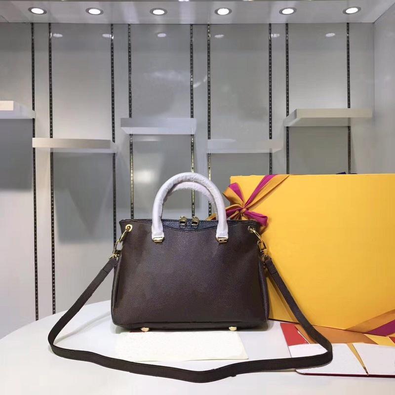 Moda Lady Bag Top Womens Totes Bolsas Clássico Padrão Design 27cm Ao Ar Livre Alta Qualidade Bolsa Bolsa Número de Serial Anexado